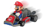 Mario in his Cart